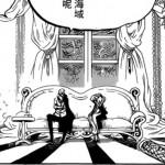 ワンピースネタバレ846話の確定を予想。プリンの部屋に鏡が!